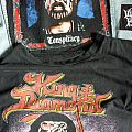 King Diamond european tour shirt and Conspiracy backpatch