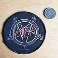 Slayer - Patch - Slayer - round logo patch with pentagram