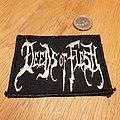 Deeds of Flesh - Logo Patch