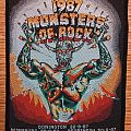 Monsters of Rock 1987 Patch