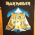 Iron Maiden Powerslave back patch