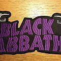 Sabbath Back Patch