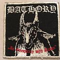Bathory In Conspiracy With Satan Patch