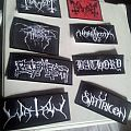 Patches I Bought Off Of Craigslist w/ Eluveitie Shirt