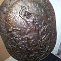 Huge bronze shield. Other Collectable