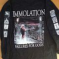 Immolation - TShirt or Longsleeve - Immolation - Failures For Gods