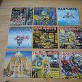 Iron Maiden vinyl Tape / Vinyl / CD / Recording etc