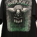 Overkill White Devil Armory 2014 USA Tour Shirt
