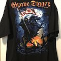 Grave Digger 2015 North America Tour Shirt