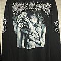 Cradle Of Filth Supreme Vampyric Evil Shirt 1996 Cacophonous Print