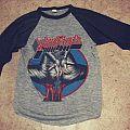 "Judas Priest  ""Keep The Faith"" Defenders Tour 1984 T-shirt"