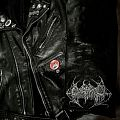 Leather jacket - Gorement Hand painted logo!!!