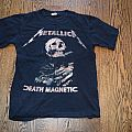 Metallica Death Magnetic Tour shirt Dated Size S 2008