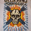 Offspring - TShirt or Longsleeve - Skull and crossbombs Days Go By tour 2012