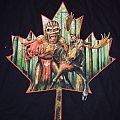 Book of Souls Canada Event shirt 2016
