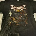 Dismember - TShirt or Longsleeve - Dismember Where Ironcrosses grow Shirt 2004