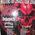 Morbid Angel, Behemoth, Krisiun - Masters of Chaos Tour 2006 Other Collectable