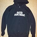 God Macabre zipper hoodie