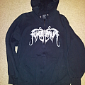 Funebrarum zipper hoodie Hooded Top