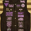 Sleep - Battle Jacket - Purple/Doom themed battlejacket WIP