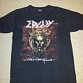 Edguy Worldwide Hellfire Tour 2005 shirt