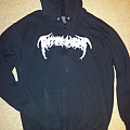 "Interment ""Where Death Will Increase"" zipper hoodie Hooded Top"