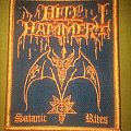 Hellhammer - Patch - Hellhammer - Satanic Rites Patch