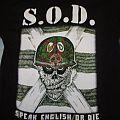 S.O.D. shirt
