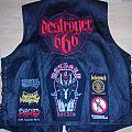 Leather vest Battle Jacket