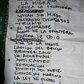 Brujeria setlist Other Collectable