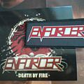 Other Collectable - Enforcer-Death by fire digibook with patch