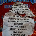 Airbourne setlist Other Collectable