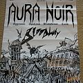 Aura Noir gig poster Other Collectable