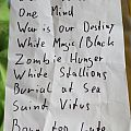 Saint Vitus setlist Other Collectable