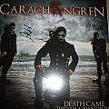 Autographed Carach Angren-Death Came Through A Phantom Ship clear splattered vinyl Tape / Vinyl / CD / Recording etc