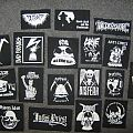 Remaining textile patches