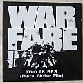 WARFARE two tribes vinyl 1984