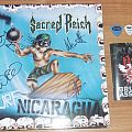 SACRED REICH fully signed EP + guitar picks from Brutal Assault