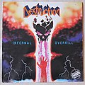 DESTRUCTION - Infernal overkill US press vinyl Tape / Vinyl / CD / Recording etc