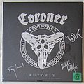 CORONER - autopsy LP Tape / Vinyl / CD / Recording etc