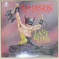 SAMSON last rites LP 1984