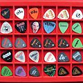 My guitar pick collection