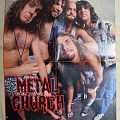 METAL CHURCH old posters
