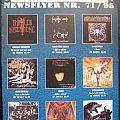 Nuclear Blast catalogue 1995/71