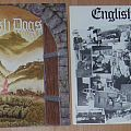 Two ENGLISH DOGS vinyls UK punk/crossover