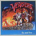 VENDETTA go and live...LP 1987