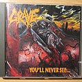 GRAVE - You will never see CD 1992 Tape / Vinyl / CD / Recording etc