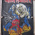 Iron Maiden The number of the beast OLD backpatch!