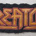 Kreator - Patch - KREATOR old rubber patch from 80's
