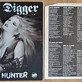 Grave Digger - Witch Hunter LP 1985 Tape / Vinyl / CD / Recording etc